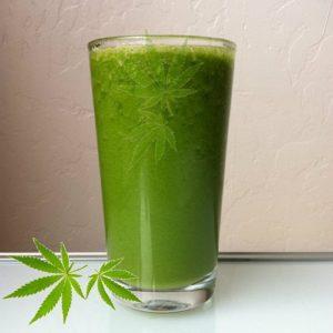 Succo frullato di Cannabis