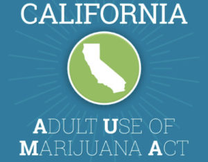 Adult Marijuana Use Act California