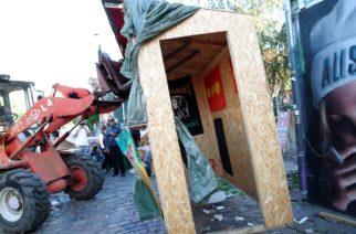Demolizione di Pusher Street