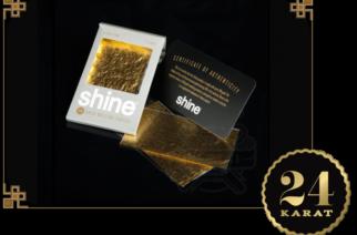 Cartine Shine in Oro 24k
