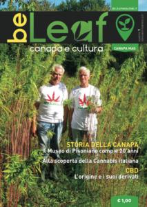 Anteprima copertina BeLeaf Magazine numero 1