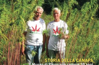 La copertina del numero 1 di Canapa Mag – BeLeaf Magazine, in uscita mercoledì 18 Gennaio