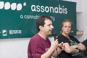 Hector Brotons in Assonabis - Spannabis