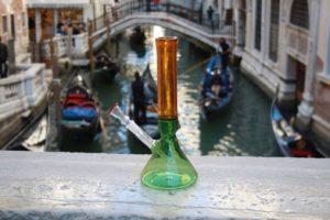 Venezia vetro di Murano Bong 420 Murano Glass