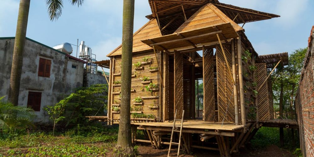Il bambù, l'acciaio verde - Blooming Bamboo Home