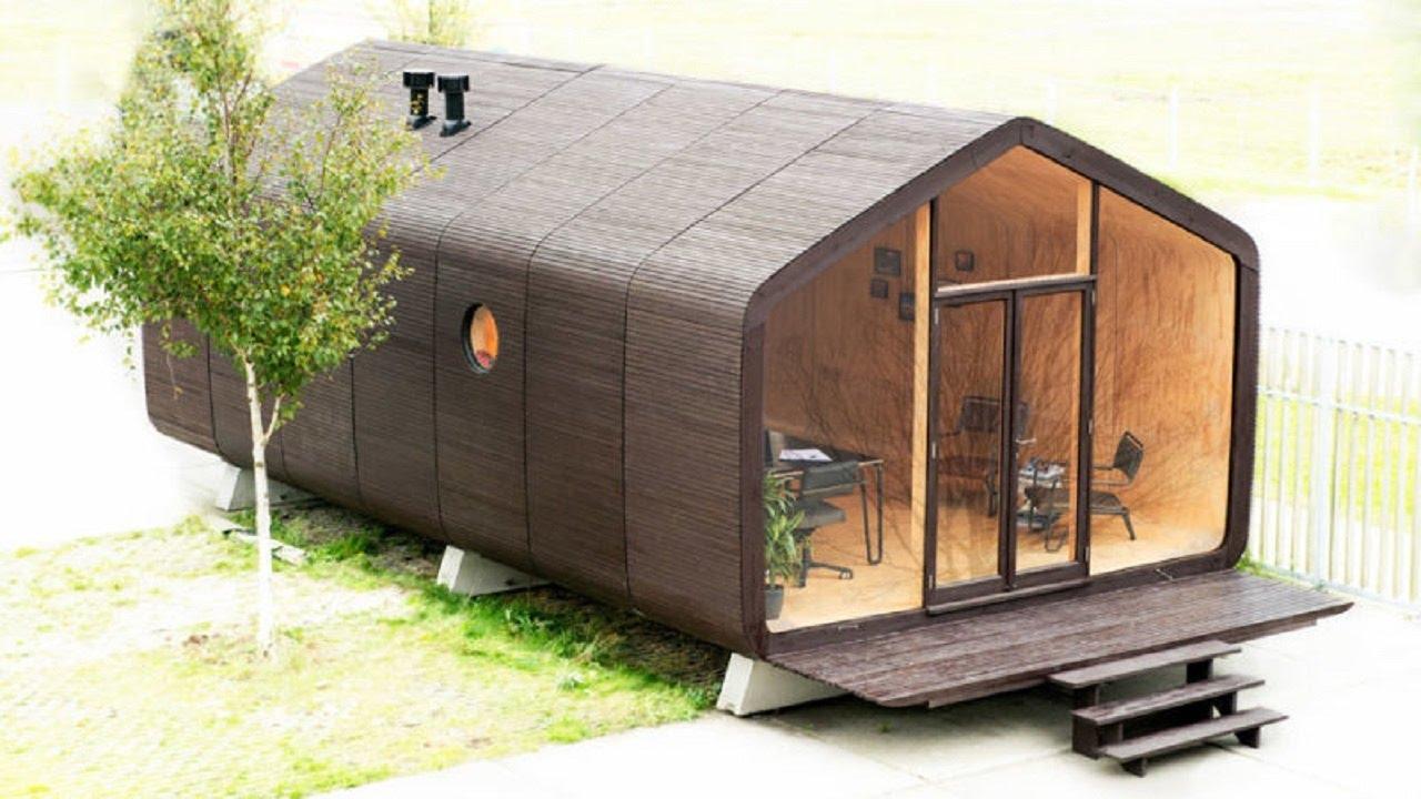 Modelli Di Case Da Costruire case prefabbricate in biomateriali (bambù, cartone, canapa