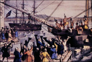 Boston tea party - Hemp e Guerra d'Indipendenza Americana