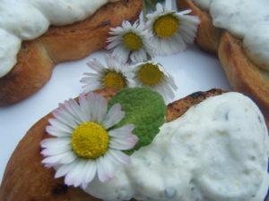Margherita - Crostini con pratoline