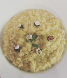 Margherita - Risotto alle margherite