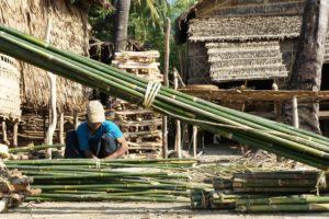 il bambù nelle costruzioni edilizie