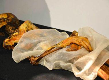 """Sciti e Canapa - La """"principessa di Ukok"""", la mummia di una donna della cultura Pazyryk dell'Altai, 500 a.C."""